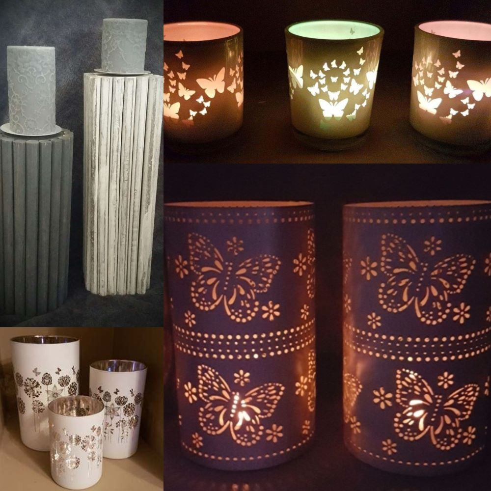 Tealights & Candle Holders