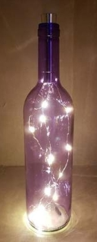 LED Bottle - Purple