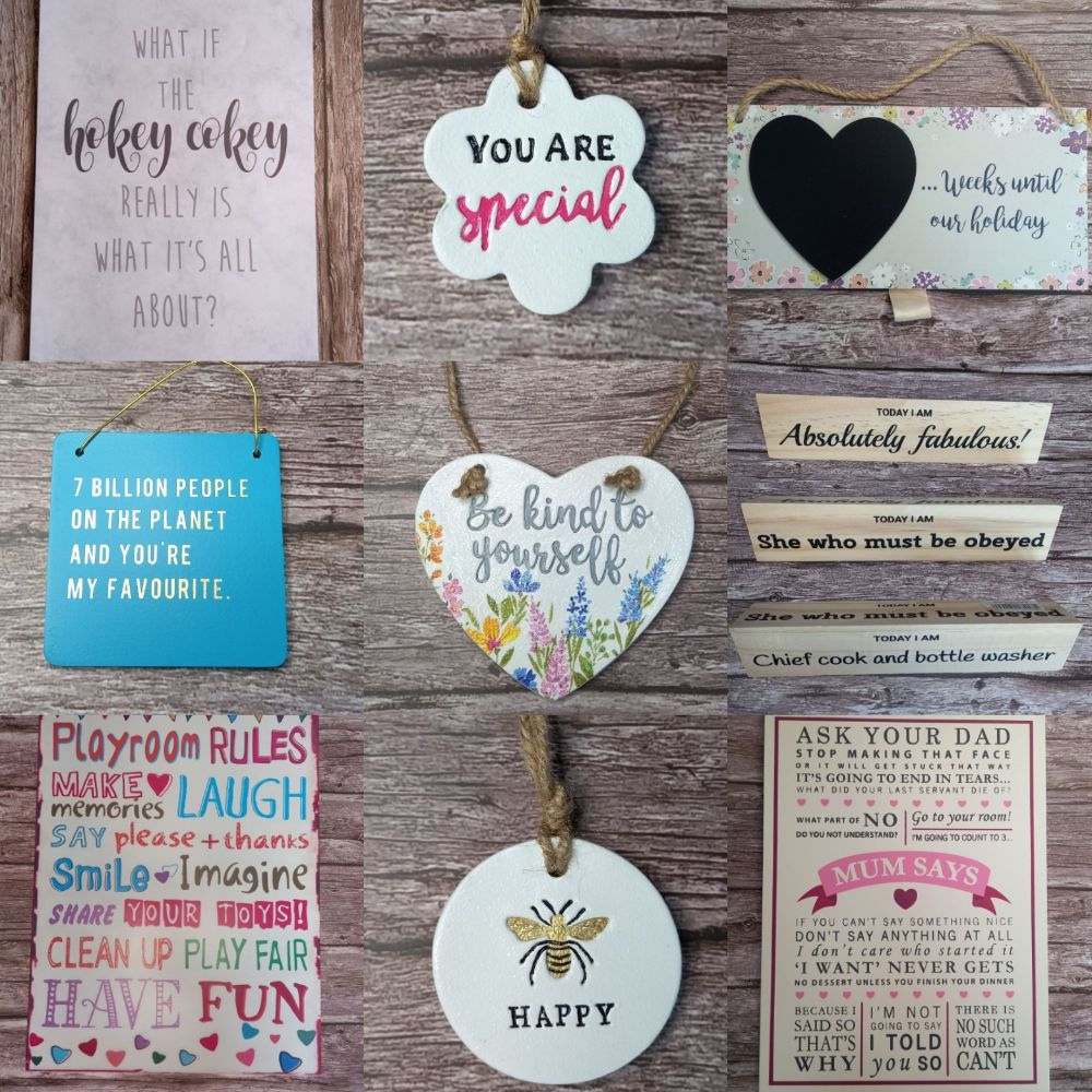 Plaques, Signs & Magnets