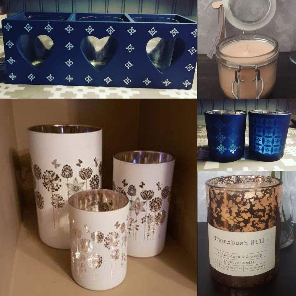 Candles, Tealights, Votives and Diffusers
