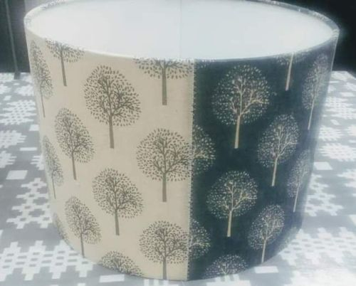 Tree Pattern Lampshade - 30 cms