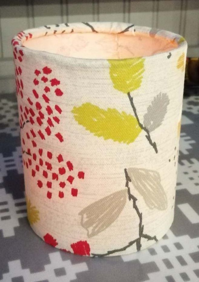 Tealight Lantern - Red and Yellow Leaves