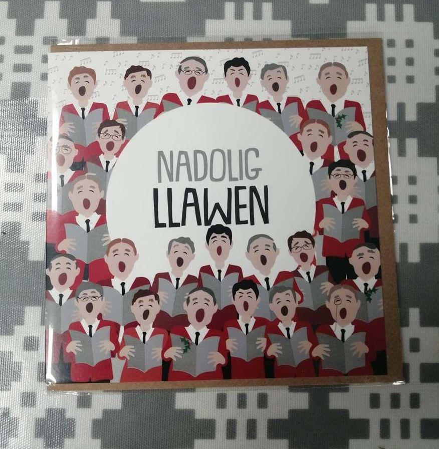 Cerdyn Nadolig Llawen - Welsh Choir