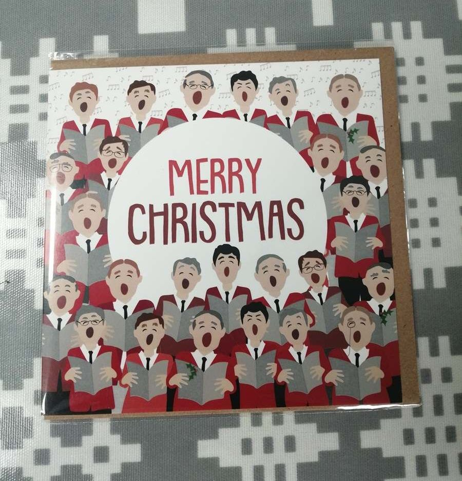 Merry Christmas Card - Welsh Choir