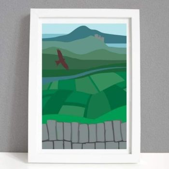 A4 Wales is the Land of My Fathers Print