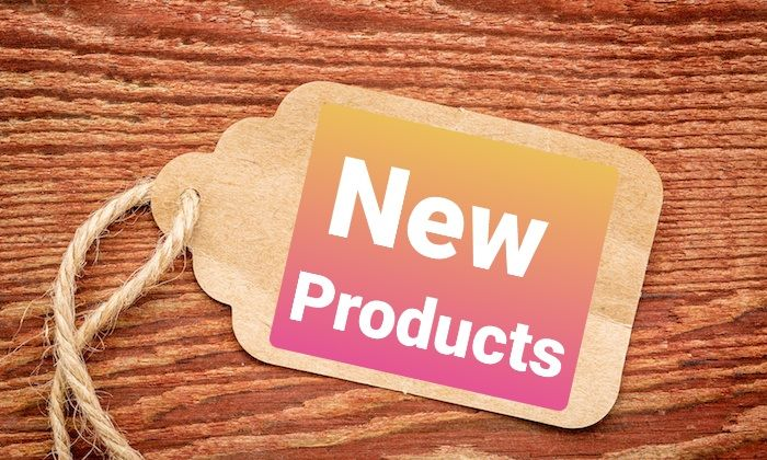 <!-- 001 --> New Products