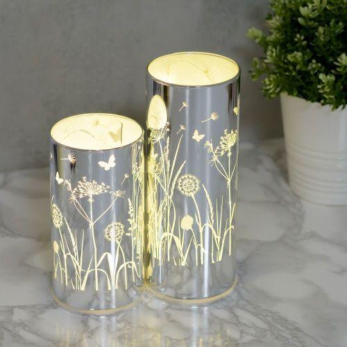 LED Glass Flower Tubes