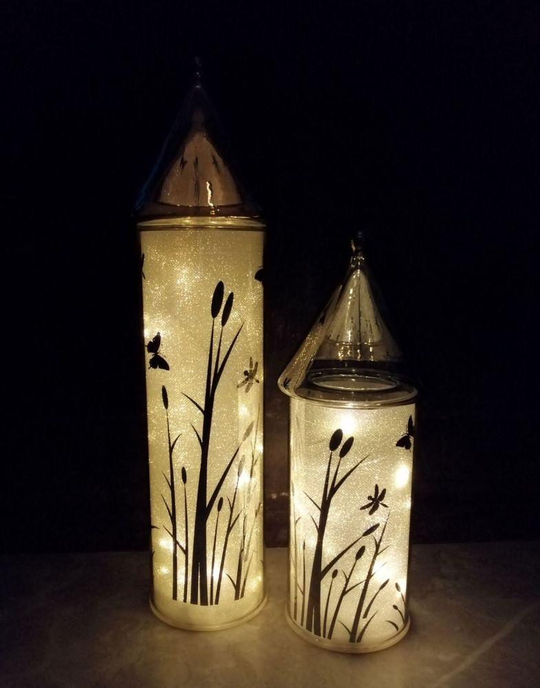 LED Glass Houses