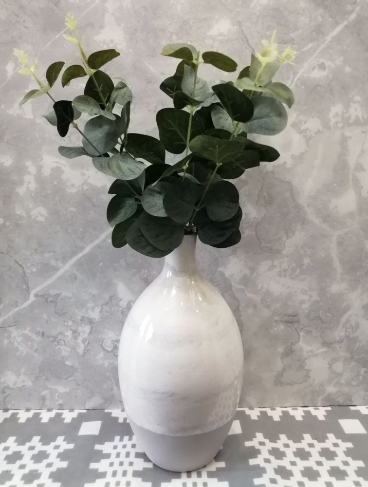Grey and Marble Vase