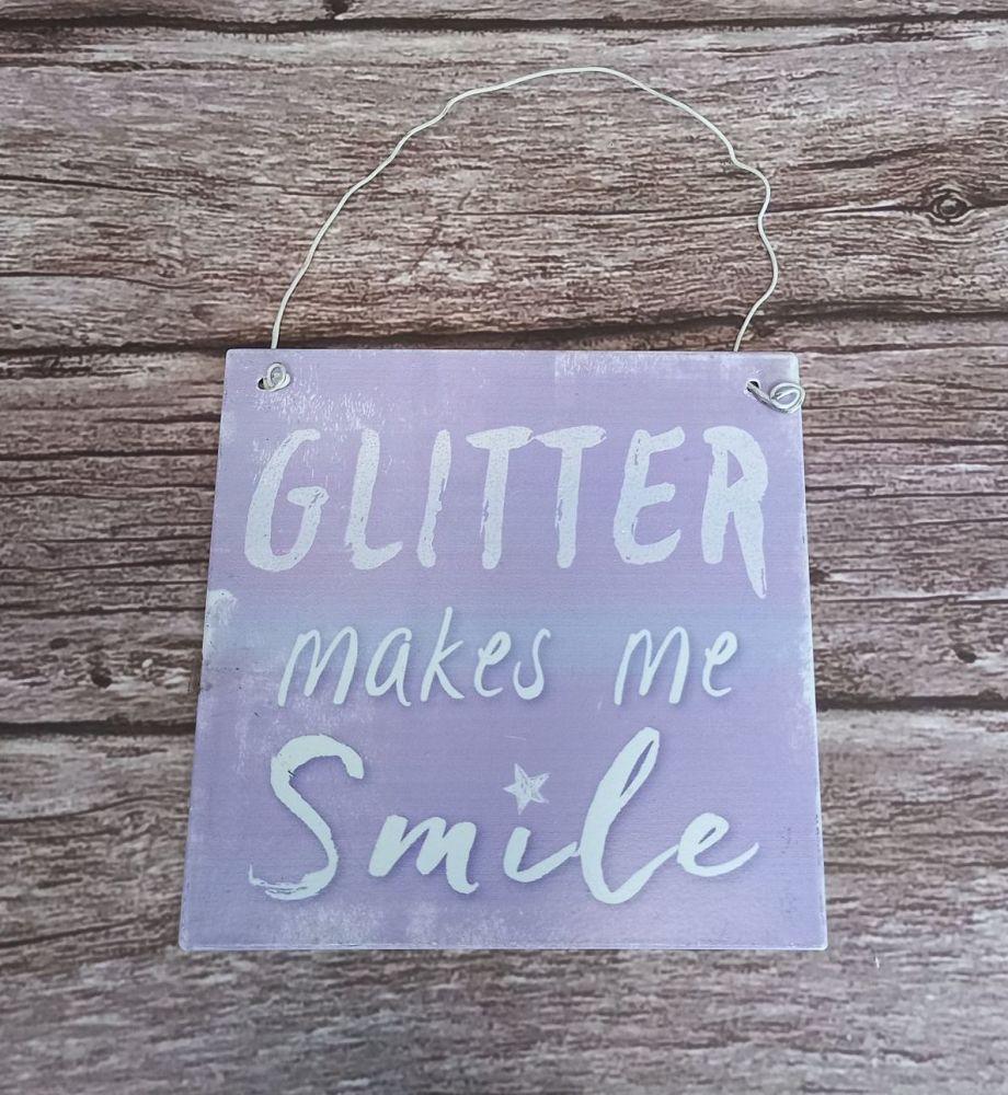 Glitter Plaque