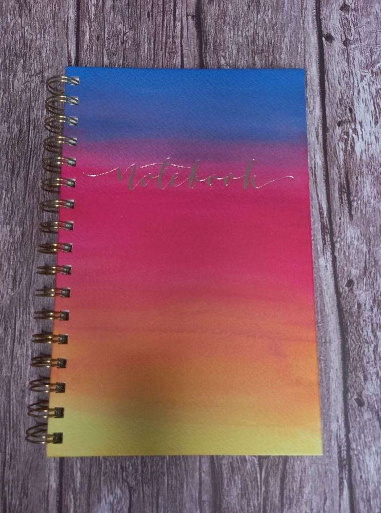 Notebook - Watercolour