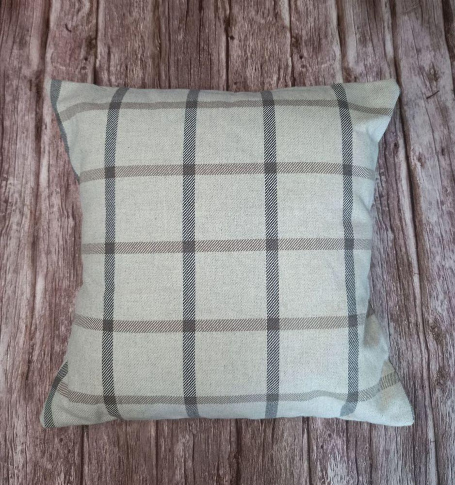 Cushion - Check Print