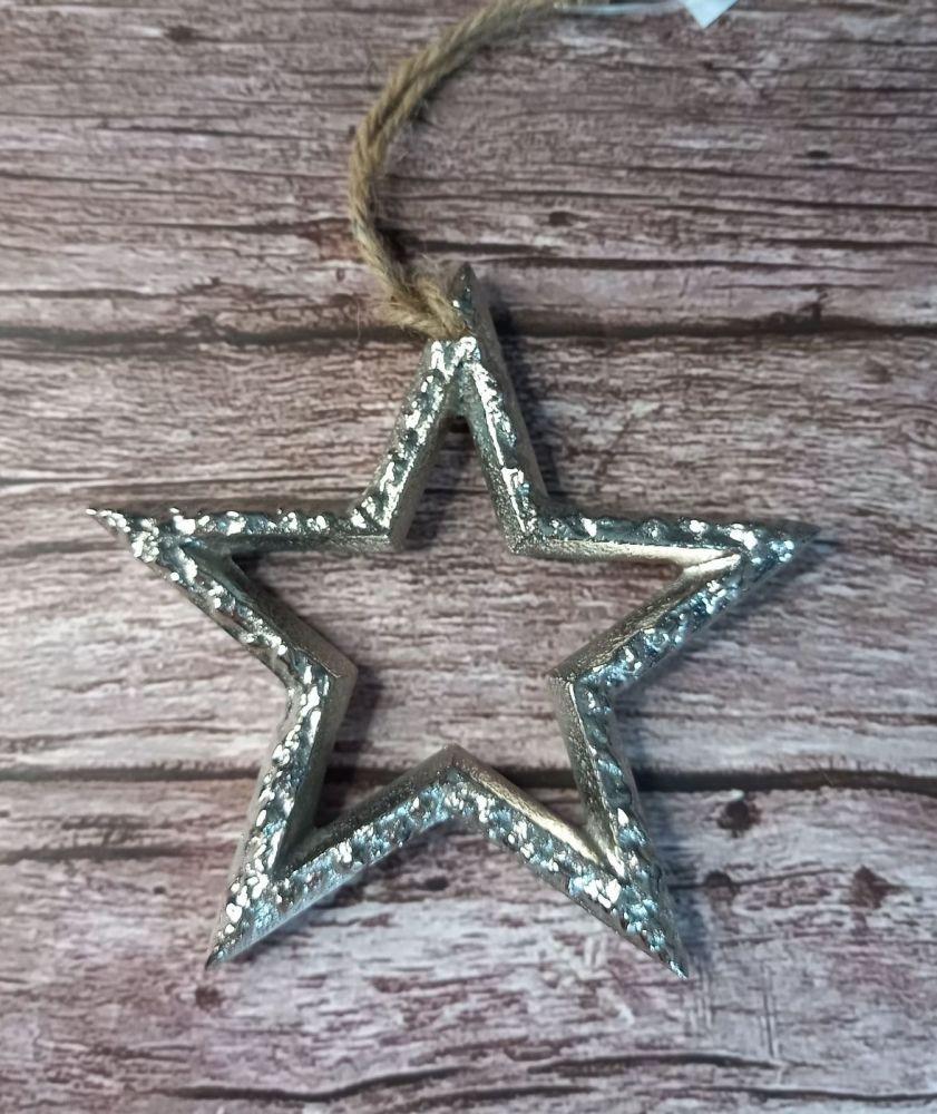 Silver Metal Star
