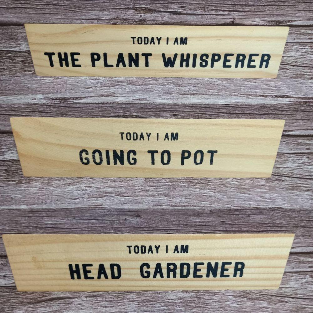 Toblerone Style Block - Head Gardener