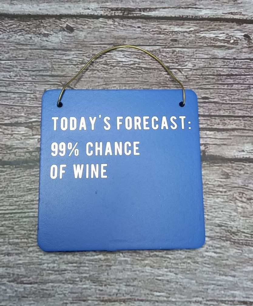 Mini Sign - Forecast