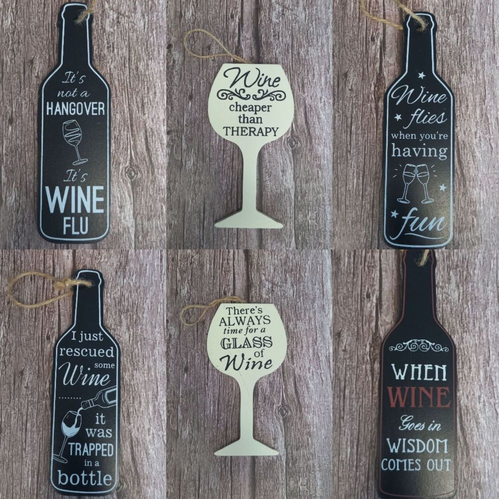 Wine Bottle Tag - Always Time