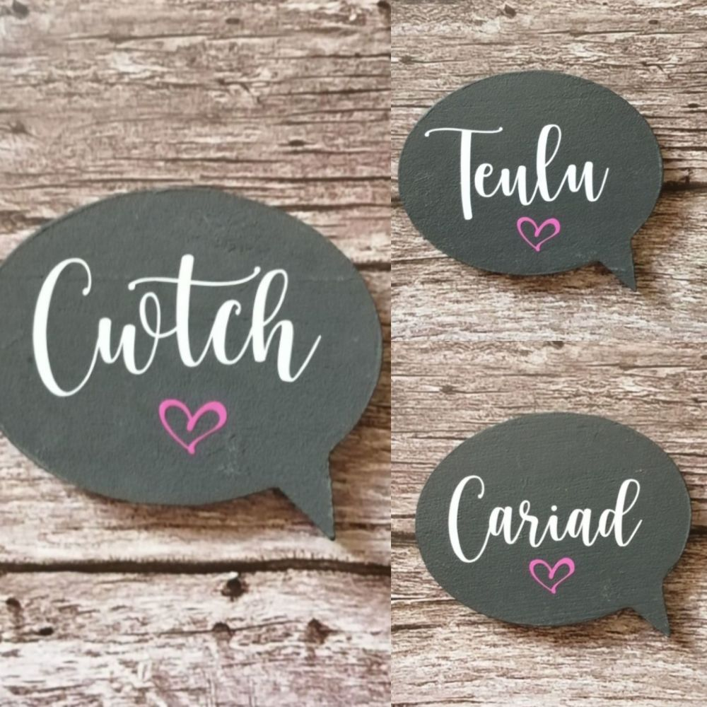 Coaster Style Plaques