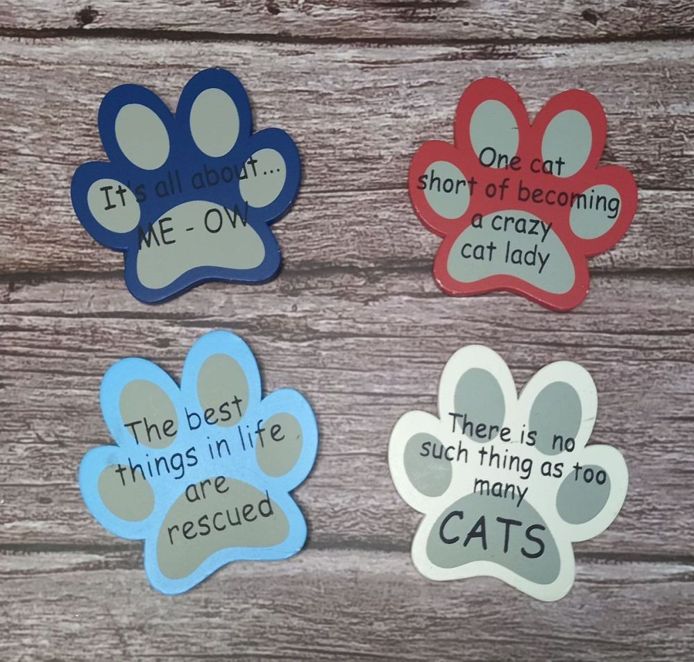 Magnet Cat Paw Prints