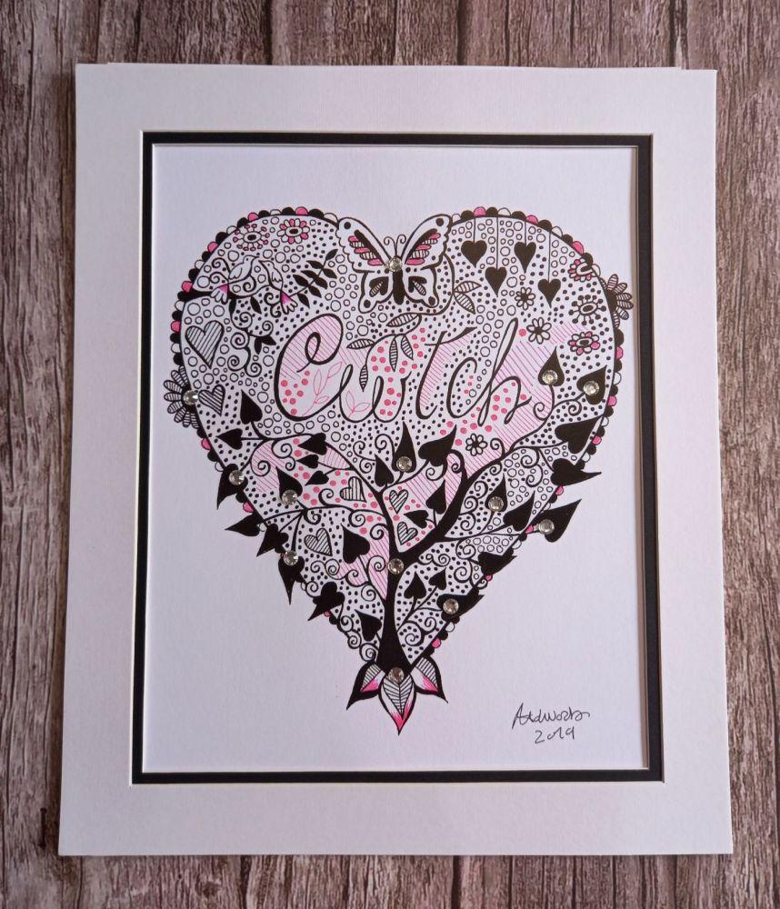 A4 Cwtch Print