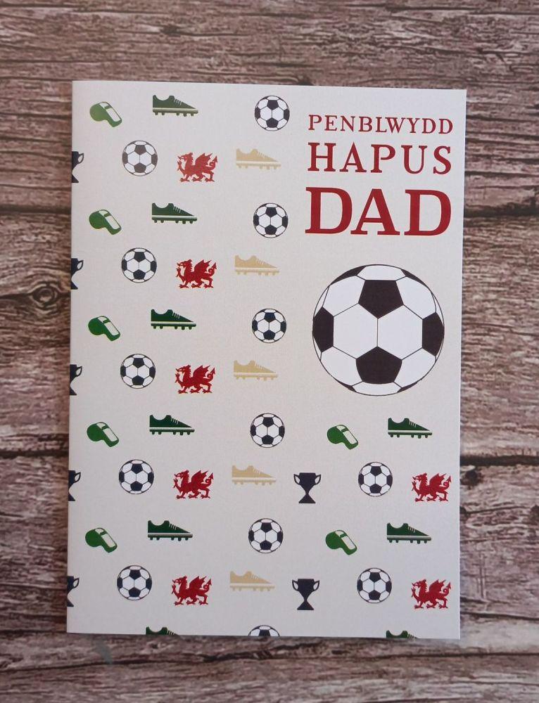 Cerdyn Penblwydd Dad