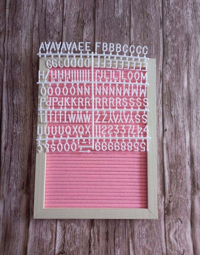 Cinema Style Letter Board