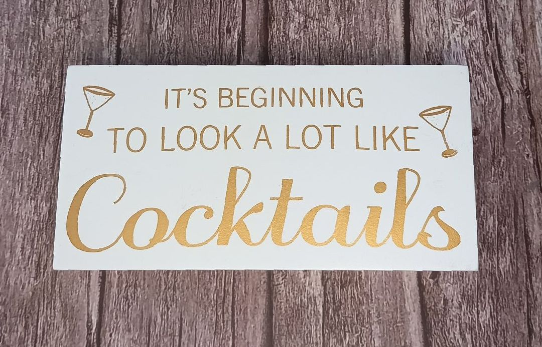 Christmas Cocktails Block