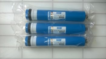 3 x Hid 150 gal per day reverse osmosis membrane