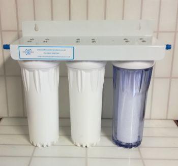 "3 stage 10"" HMA filter system"