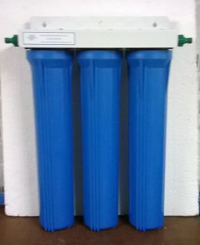 "3 stage 20"" system ( for pond or whole house filtration )"
