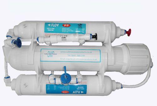 100gpd 3 stage aquarium system