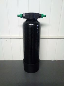 7Ltr refillable di vessel ( filled with resin )