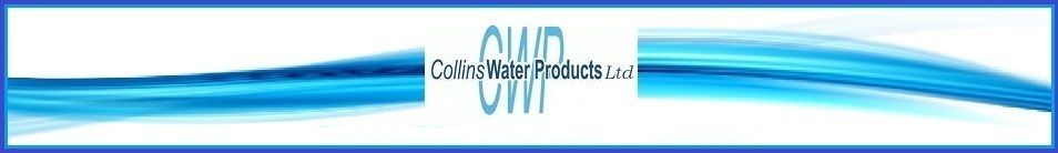 Collins water products Ltd, site logo.