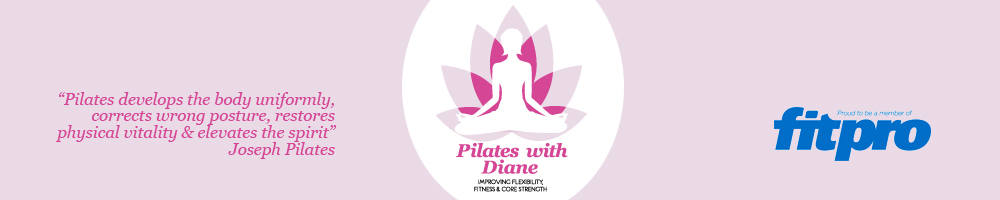 Pilates with Diane, site logo.