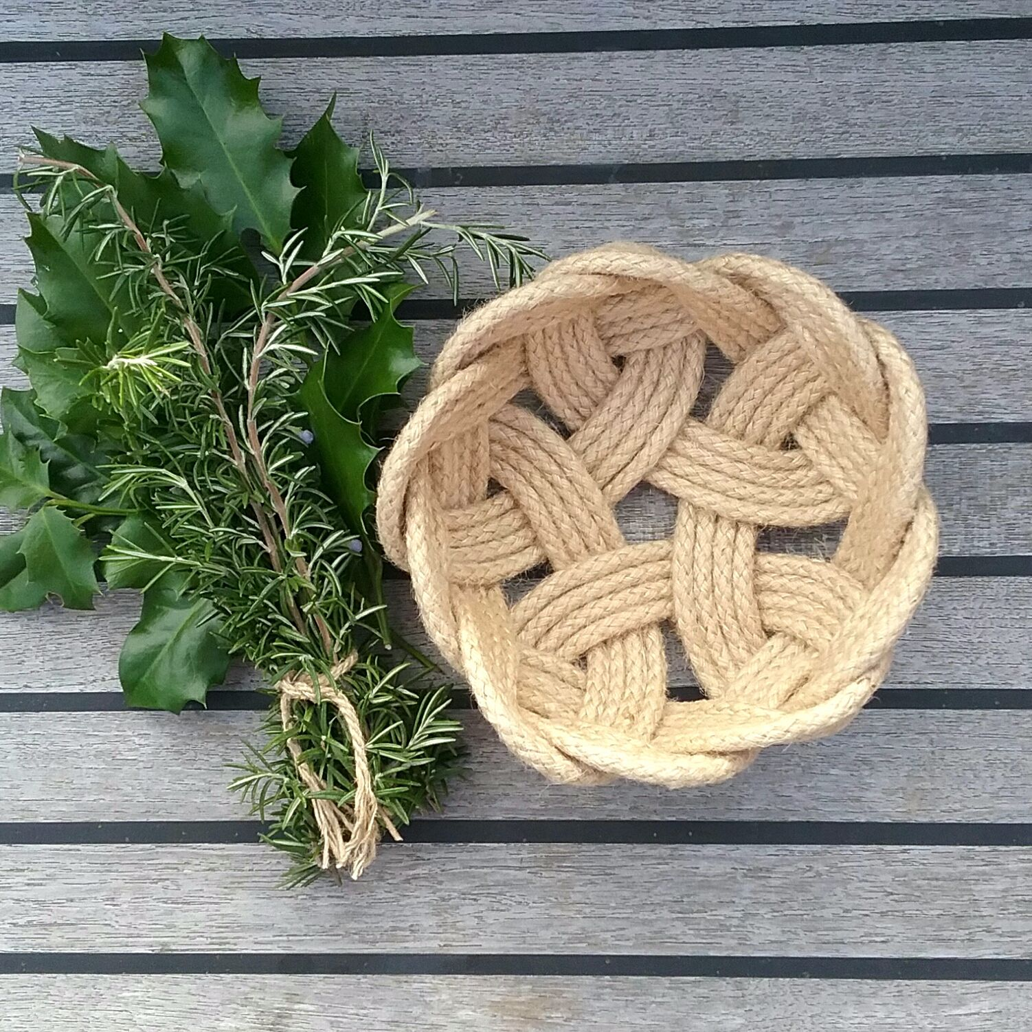 Rope Knot Bowl