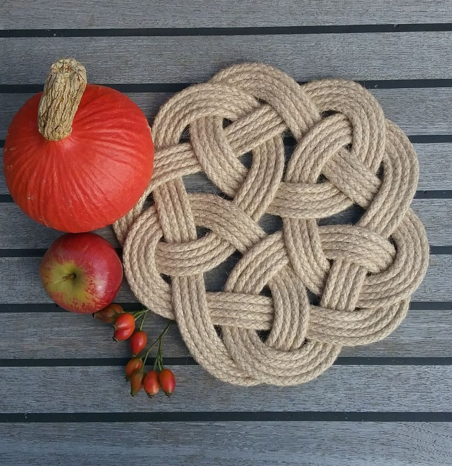 Rope Knot Table Mats