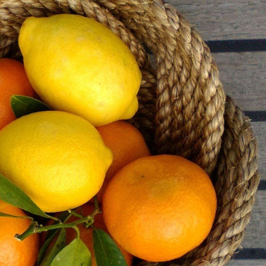 Rope Fruit Bowls