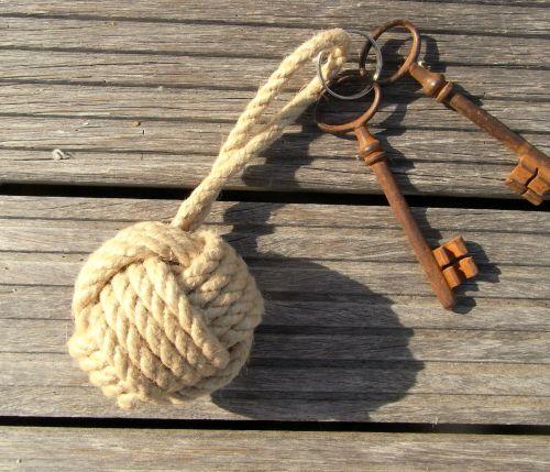 Floating Rope Keyring