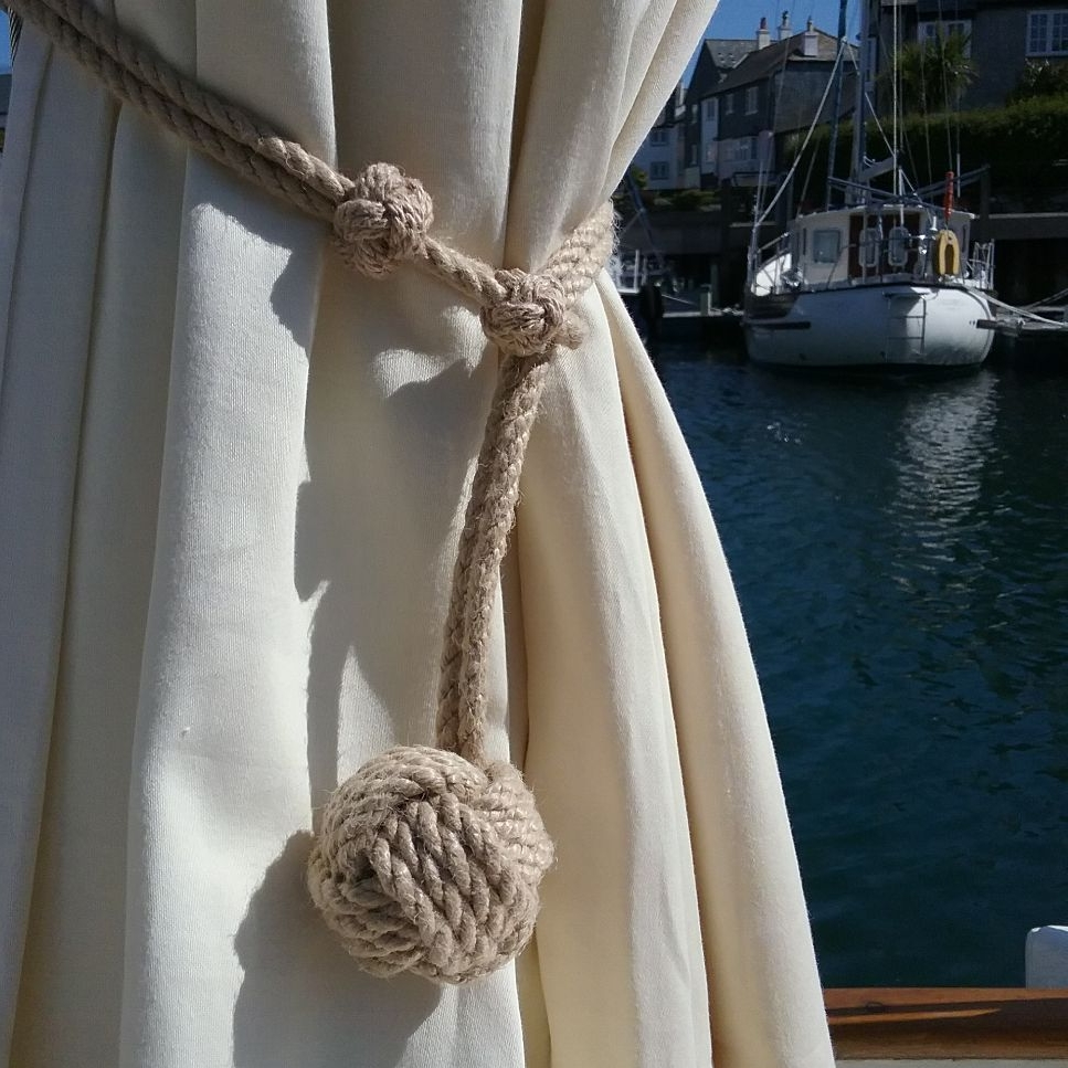 Coastal Style Curtain Tie Backs