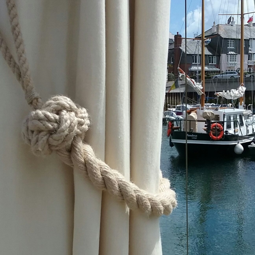'Marazion' Rope Curtain Tie Back