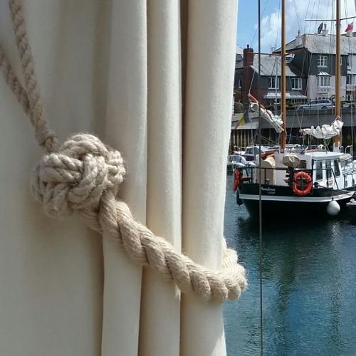 'Marazion' Rope Curtain Tie Back