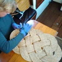 Seven Seas Ocean Plait Rope Mat