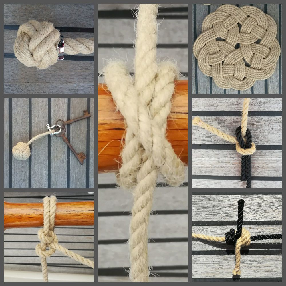 2nd 7 days rope knots