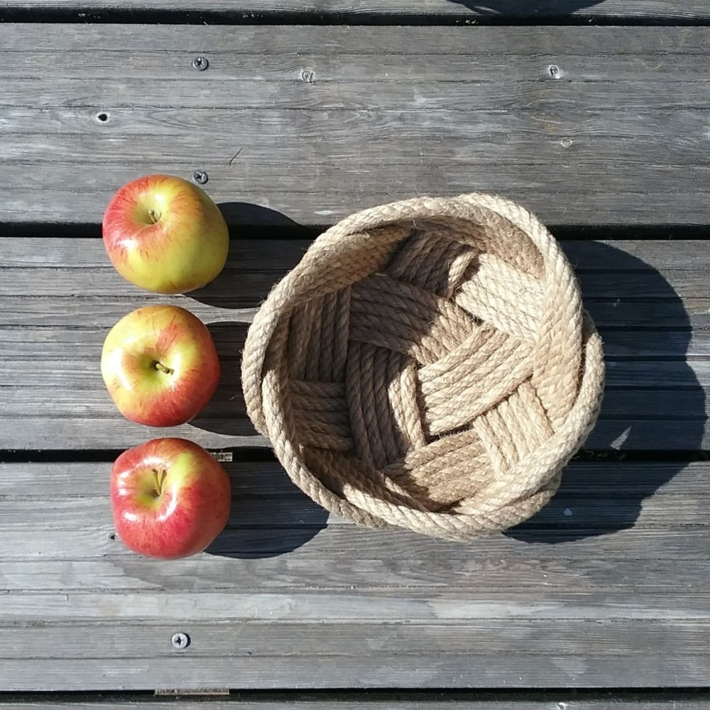 Natural Rope Fruit Bowl