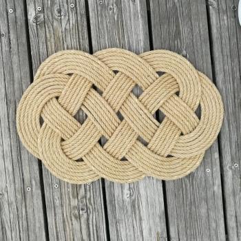 Jute Rope Ocean Plait Mat