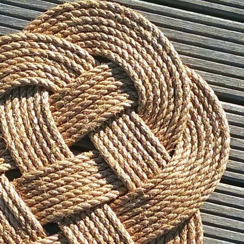 Rope Knot Mat