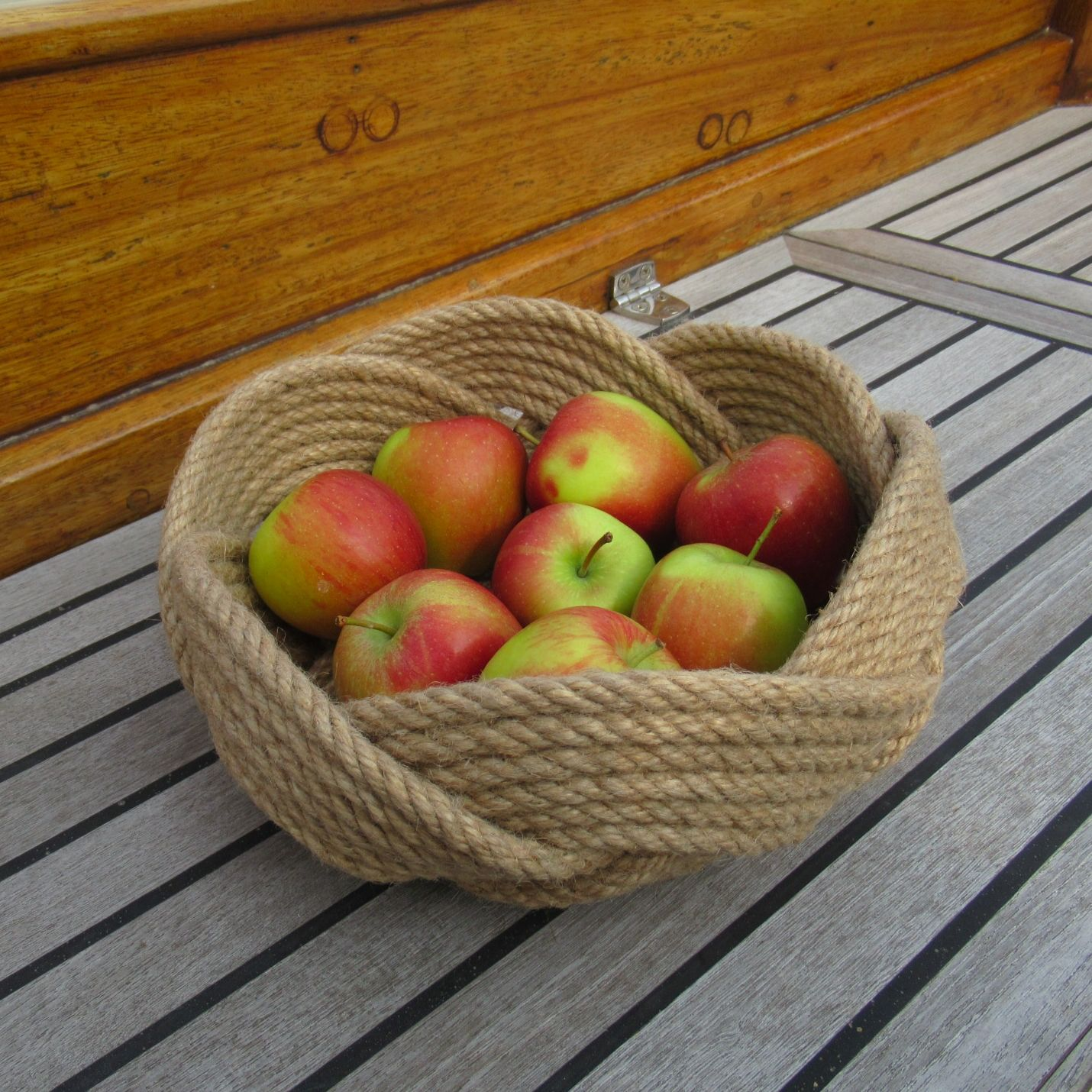 Large Rope Fruit Basket