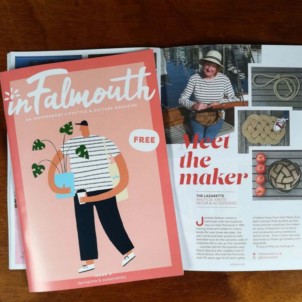 In Falmouth Magazine feature