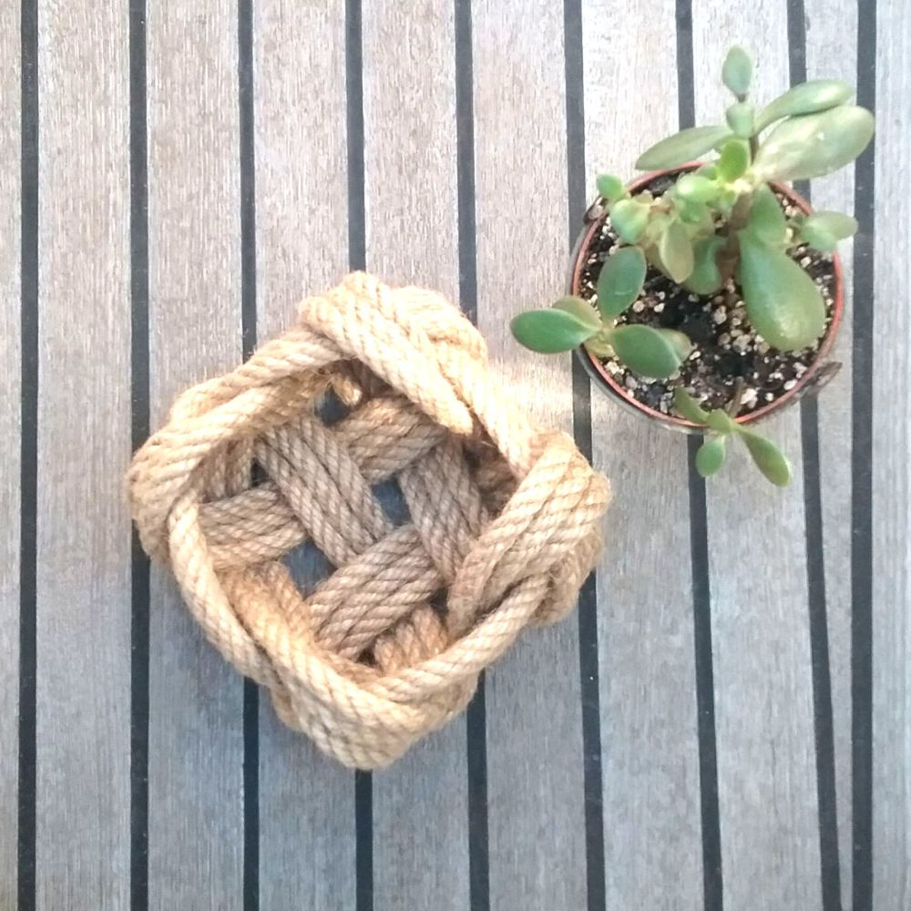 Square Rope Basket, Small