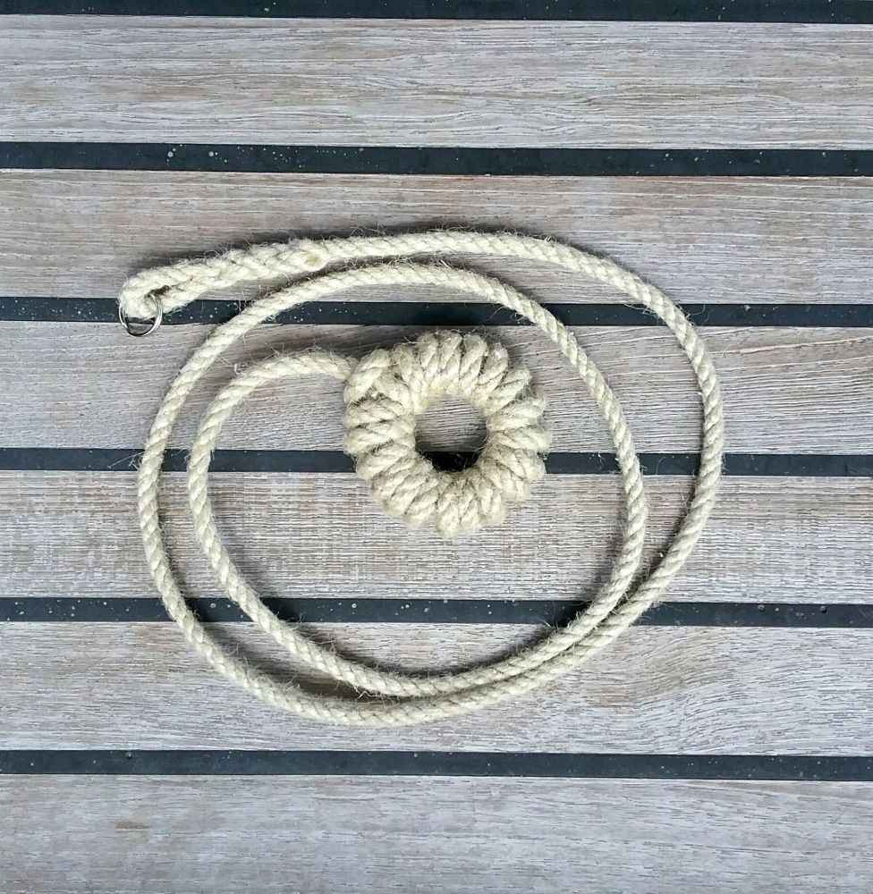 Nautical Knot Rope Light Pull