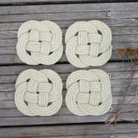 Rope Coasters, Set of Four